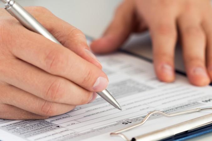 Achten Sie stets darauf, alle erforderlichen Steuerunterlagen auszufüllen und einzureichen. (#2)