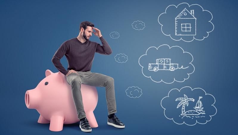 Tagesgeld und Festgeld unterscheiden sich von der Spareinlage durch die Kapitalbindung. ( Foto: Shutterstock-Gearstd  )